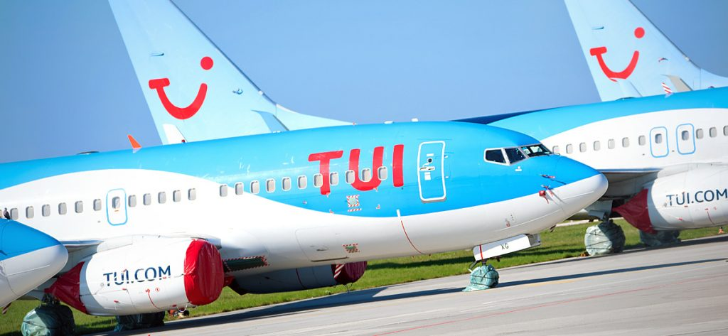 Bild: TUI-Flugzeuge in Hannover