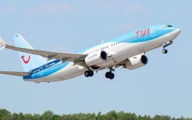 Bild: TUI-Flugzeug in Hannover