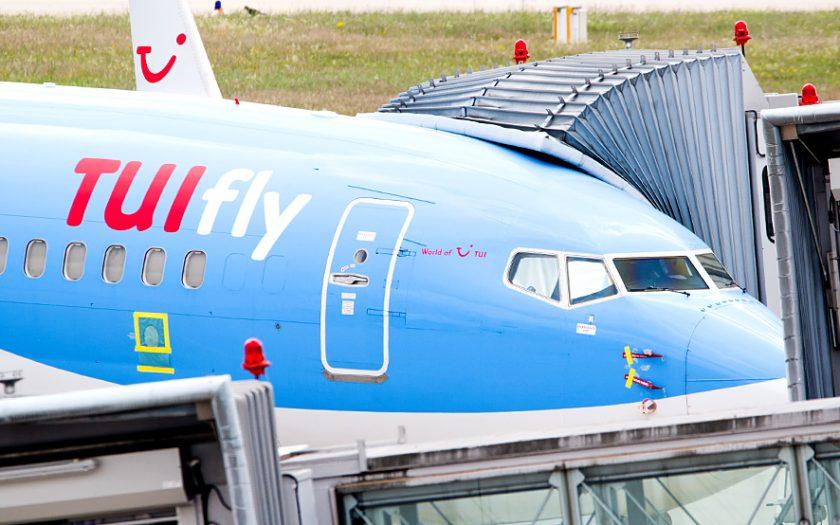 Bild: Tuifly-Flugzeug