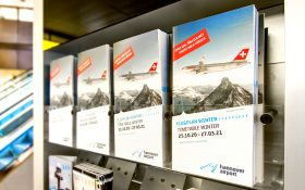 Bild: Taschenflugplan Hannover Airport