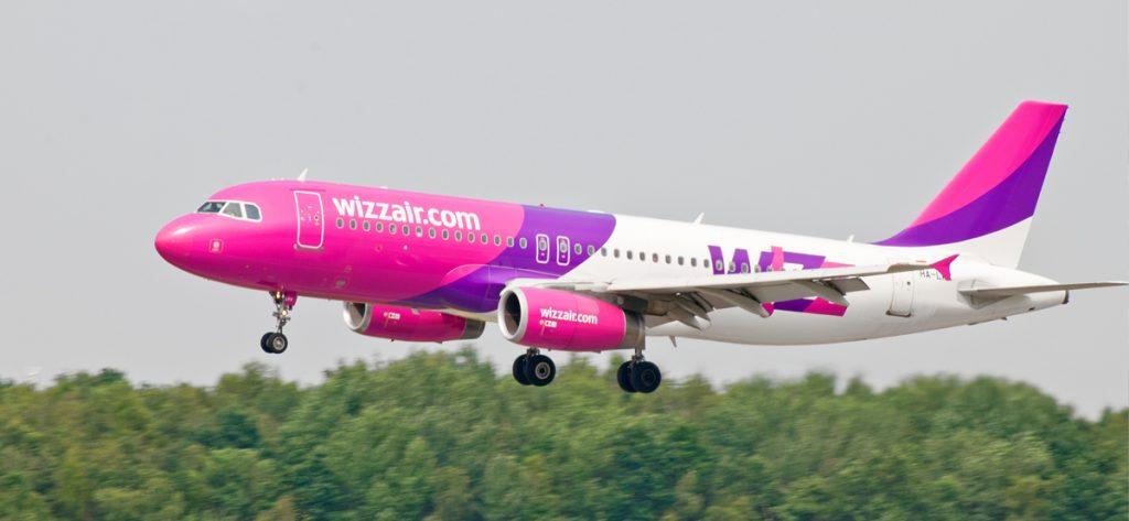 Bild: Flugzeug von Wizz-Air